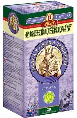 AGROKARPATY CYPRIÁN, PRIEDUŠKOVÝ bylinný čaj, čistý prírodný produkt, 20x2 g (40 g)