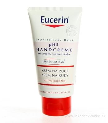 Eucerin pH5 regeneračný krém na ruky pre citlivú pokožku 1x75 ml
