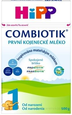 HiPP 1 BIO Combiotik počiatočná mliečna dojč. výživa (od narodenia) 1x500 g