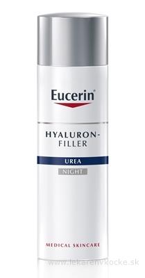 Eucerin HYALURON-FILLER UREA nočný krém proti vráskam pre suchú pleť 1x50 ml