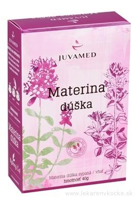 JUVAMED MATERINA DÚŠKA - VŇAŤ bylinný čaj sypaný 1x40 g