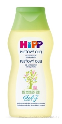 HiPP BabySANFT Pleťový olej sensitive 1x200 ml