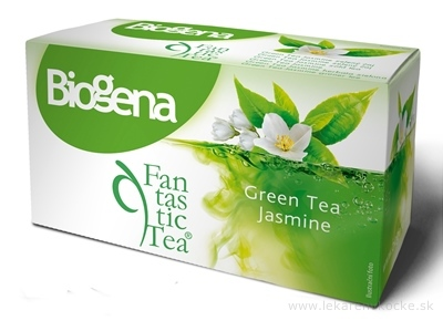 Biogena Fantastic Tea Green Tea Jasmine zelený čaj (inov.2019) 20x1,75 g (35 g)