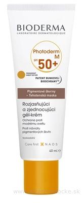 Bioderma Photoderm M ochranný tónovací krém proti pigmentovým škvrnám SPF 50+ Golden 40 ml