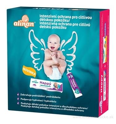 Alinan Happy krém pod plienku 35 g + detské vlhčené utierky 56 ks ZDARMA, 1x1 set