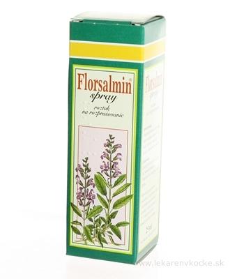 Florsalmin spray sol neb (liek.skl.hnedá) 1x25 ml