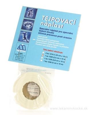MEDIPLAST TEJP PÁSKA 1220 2,5cmx10m 1x1 ks