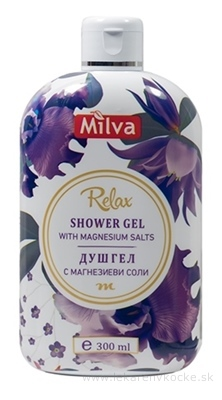 Milva SPRCHOVÝ GÉL RELAX (Shower gel with MAGNESIUM) 1x300 ml