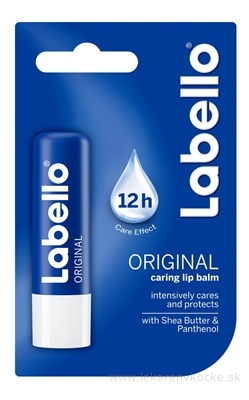 Labello ORIGINAL modrý balzam na pery 1x4,8 g