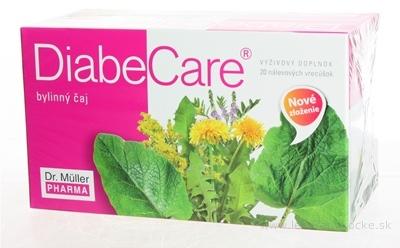 Dr. Müller DIABECARE diabetický bylinný čaj 20x1,5 g (30 g)