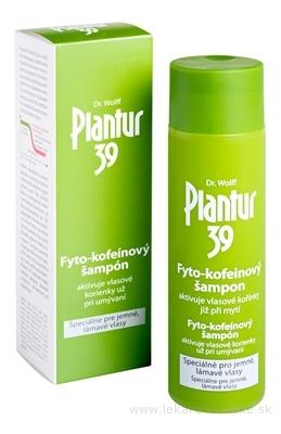 Plantur 39 Fyto-kofeinový šampón pre jemné vlasy 1x250 ml