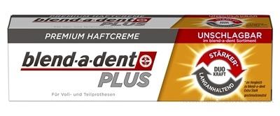 blend-a-dent PLUS DUO Power NEUTRAL premium fixačný dentálny krém 1x40 g