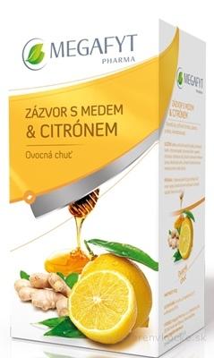 MEGAFYT ZÁZVOR S MEDOM & CITRÓNOM 20x2 g (40 g)