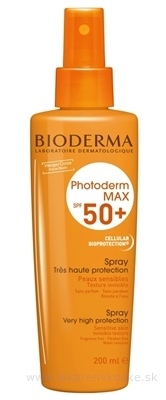 BIODERMA PHOTODERM MAX SPF 50+ sprej (inov.2013) 1x200 ml