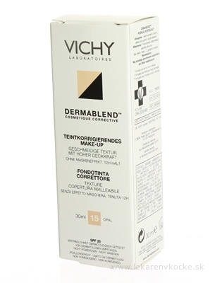 VICHY DERMABLEND 15 KOR.MAKE-UP (M5541401) fluidný 1x30 ml