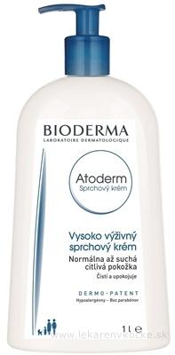 Bioderma Atoderm sprchový krém pre veľmi suchú citlivú a atopickú pokožku (Nutri-Protective Cleansing Cream) 1000 ml