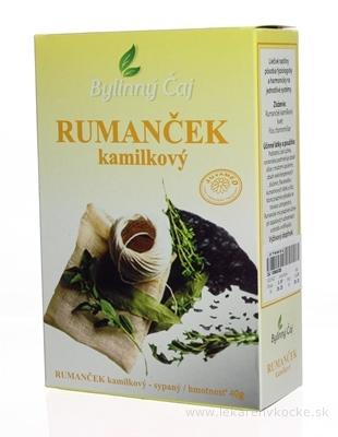 JUVAMED RUMANČEK KAMILKOVÝ - KVET bylinný čaj sypaný 1x40 g