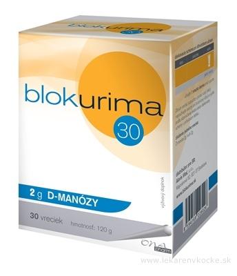 Blokurima 2 g D-MANÓZY vrecúška (120 g) 1x30 ks