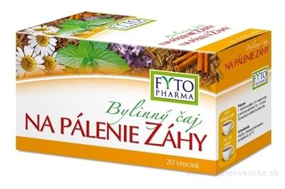 FYTO Bylinný čaj NA PÁLENIE ZÁHY 20x1,5 g (30 g)