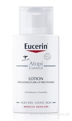 Eucerin AtopiControl Telové mlieko pre suchú pleť 1x100 ml