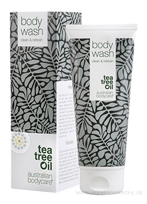 ABC tea tree oil BODY WASH - Sprchový gél antibakteriálny 1x200 ml