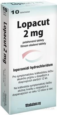 Lopacut 2 mg tbl flm (blis.PVC/Al) 1x10 ks