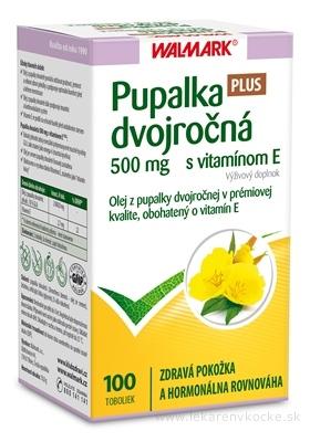 WALMARK Pupalka dvojročná 500 mg s vitamínom E cps 1x100 ks