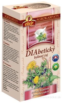 AGROKARPATY DIABETICKÝ ČAJ čistý prírodný produkt, 20x2 g (40 g)