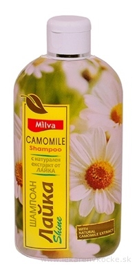 Milva ŠAMPÓN HARMANČEK (Milva Shampoo CAMOMILE) 1x200 ml