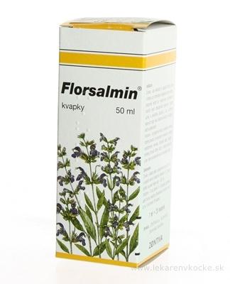 FLORSALMIN gtt (liek.skl.hnedá) 1x50 ml