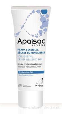 Apaisac BIORGA Intenzívny hydratačný krém modrá rada (Intensive Moisturising Cream) 1x40 ml