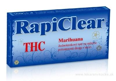 RapiClear THC (Marihuana) IVD, test drogový na samodiagnostiku 1x1 ks