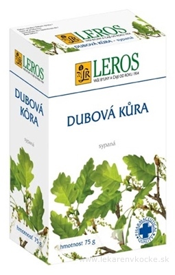 LEROS DUBOVÁ KÔRA 1x75 g