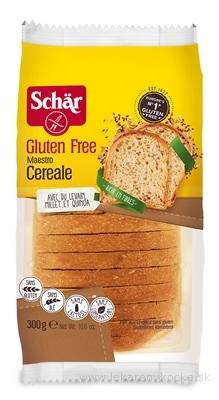 Schär MAESTRO CEREALE chlieb bezgluténový, viaczrnný, krájaný, 1x300 g