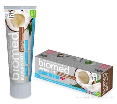 biomed SUPERWHITE bieliaca zubná pasta 1x100 g