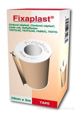 FIXAplast Cievková náplasť textilná 10 cm x 5 m 1x1 ks