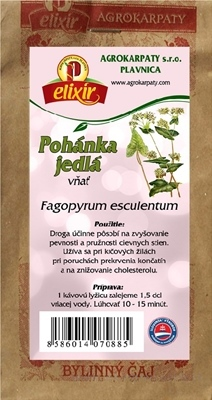 AGROKARPATY POHÁNKA JEDLÁ vňať bylinný čaj 1x30 g