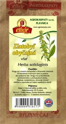 AGROKARPATY ZLATOBYĽ OBYČAJNÁ vňať bylinný čaj 1x30 g