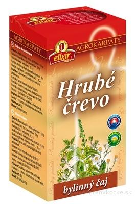 AGROKARPATY HRUBÉ ČREVO bylinný čaj, čistý prírodný produkt, 20x2 g (40 g)