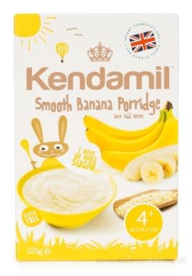 KENDAMIL Jemná banánová kaša obilno - mliečna (od ukonč. 4. mesiaca) 1x125 g