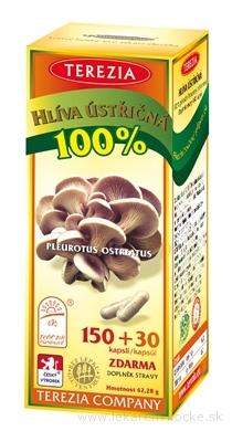 TEREZIA HLIVA USTRICOVITÁ cps 150+30 zadarmo (180 ks)