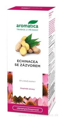 aromatica ECHINACEA so zázvorom bylinné kvapky 1x50 ml