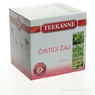 TEEKANNE BČ Čistiaci čaj bylinná zmes 10x1,6 g (16 g)