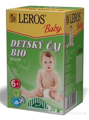 LEROS BABY DETSKÝ ČAJ BIO BYLINNÝ 20x2 g (40 g)