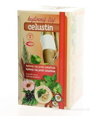 TOPVET CELUSTIN bylinný čaj proti celulitíde 20x1,5 g (30 g)