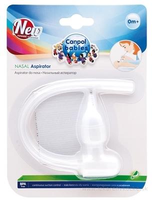 Canpol Babies Nosová odsávačka pomocou úst, kontrola sily sania, 1x1 ks