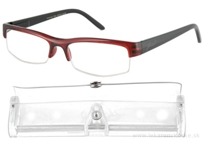 American Way okuliare na čítanie bordové, +1,50 1x1 ks