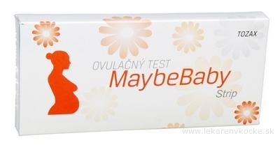 MaybeBaby strip 4v1 ovulačný test (pásik) 1x4 ks