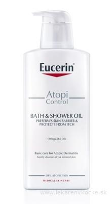Eucerin AtopiControl Sprchový olej pre suchú pleť 1x400 ml