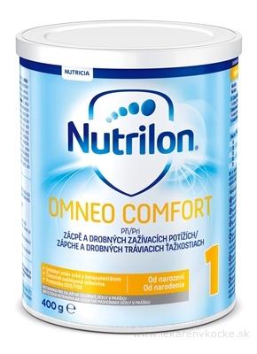 Nutrilon 1 OMNEO COMFORT mliečna výživa v prášku (od narodenia) 1x400 g